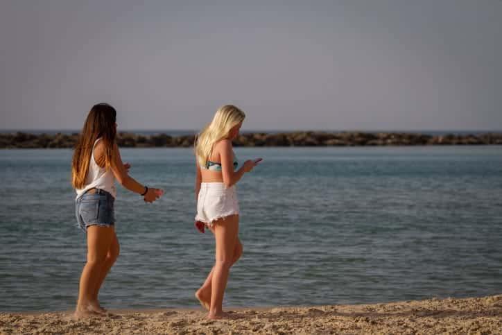 погода пляжи израиля фото