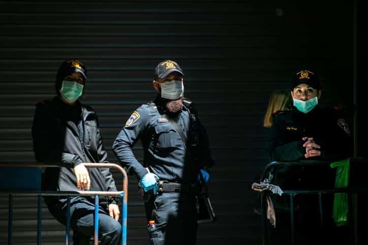 Сотрудники полиции Израиля фото