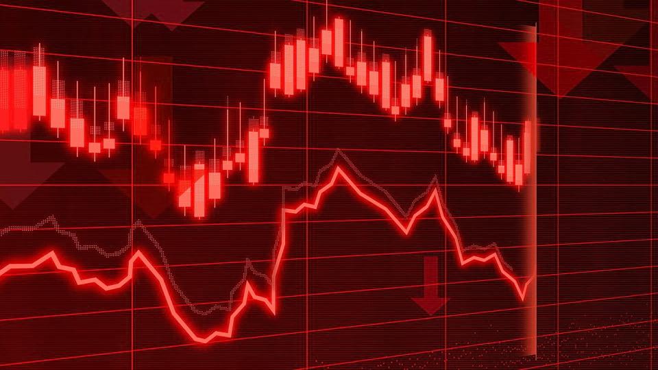 Спад экономики изображение