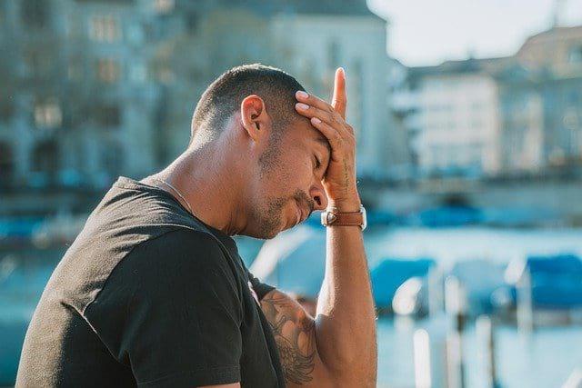 мужчина стресс картинка