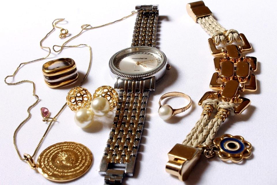 украшения часы золото браслет фото