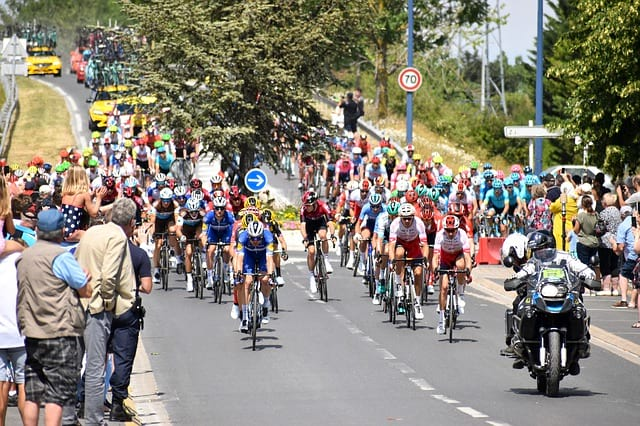 Велогонка фото
