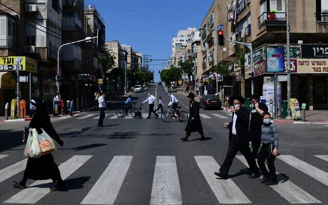 бней-брак карантин израиль фото
