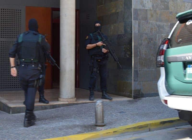 задержание террористов фото