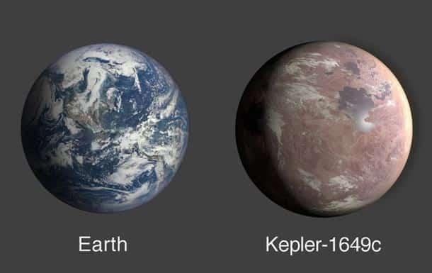 Zemlya i Kepler 1649c