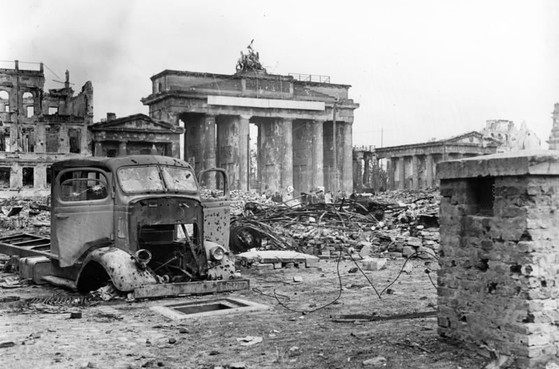 Berlin posle vzyatiya armiej SSSR