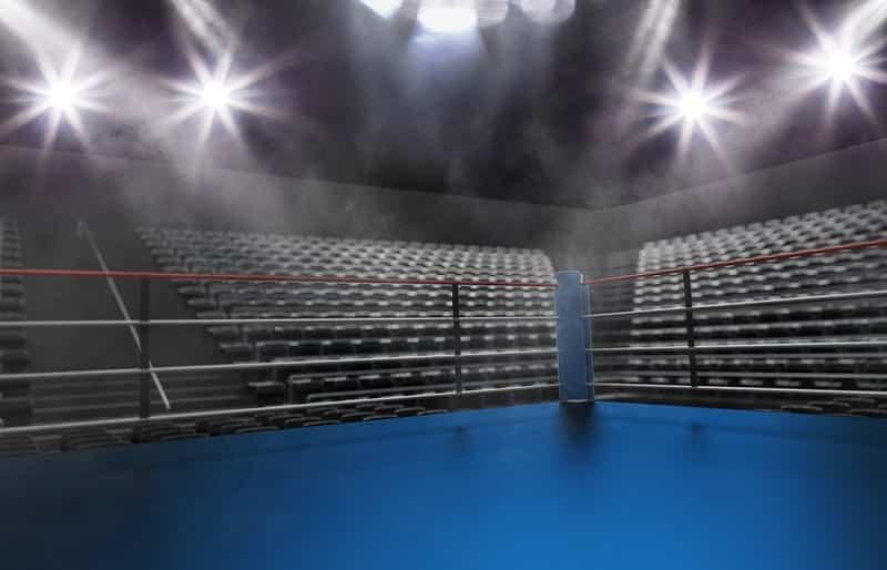 Боксерский ринг картинка
