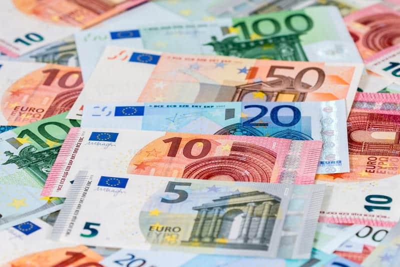 Canva Euro Banknotes 1