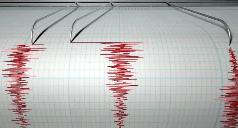 Землетрясение фото