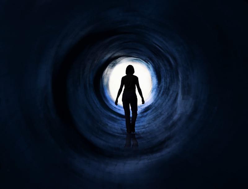 Клиническая смерть тоннель картинка