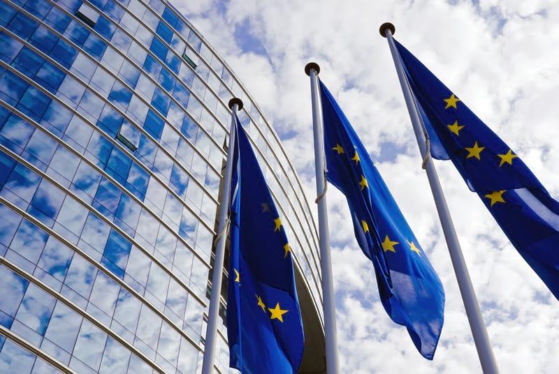 флаги евросоюза фото