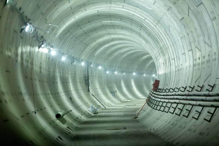Линия метро в Израиле фото