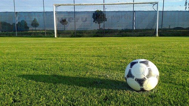 футбол мяч ворота фото
