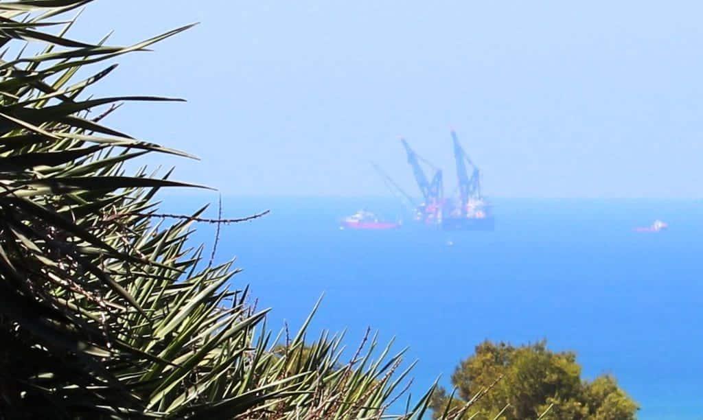 Газовая платформа Левиафан фото