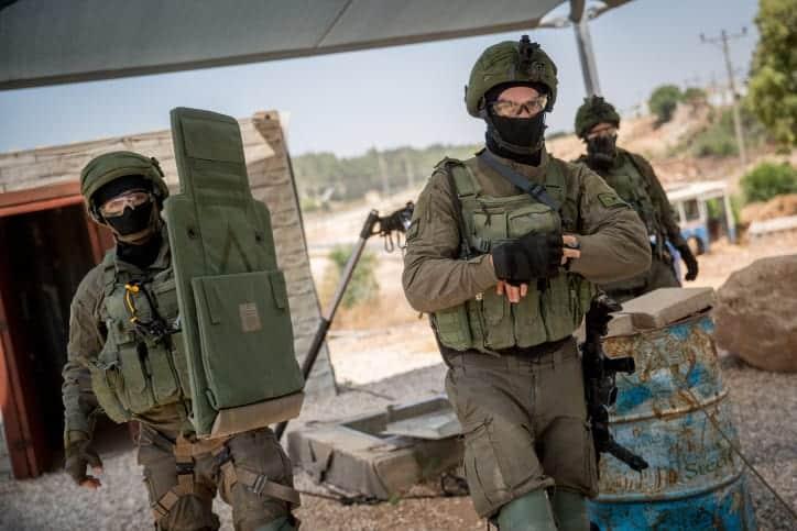 Izrailskie soldaty