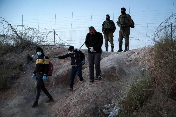 Izrailskie voennye na granitse s Iudeej i Samariej