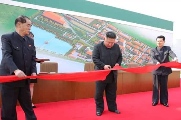 Kim CHen Yn posetil ofitsialnoe meropriyatie 2