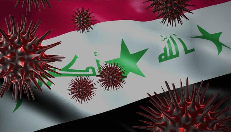 Ирак флаг коронавирус