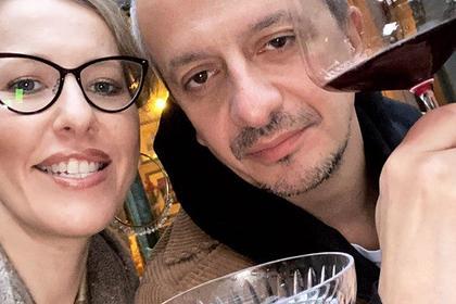 Kseniya Sobchak i ee suprug Konstantin Bogomolov
