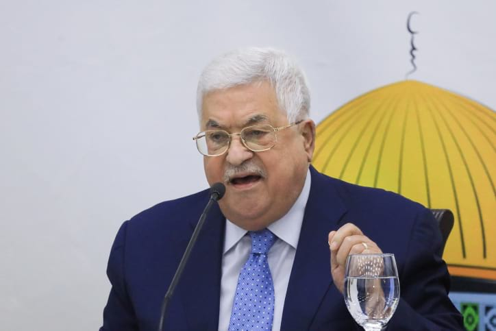махмуд аббас палестина фото