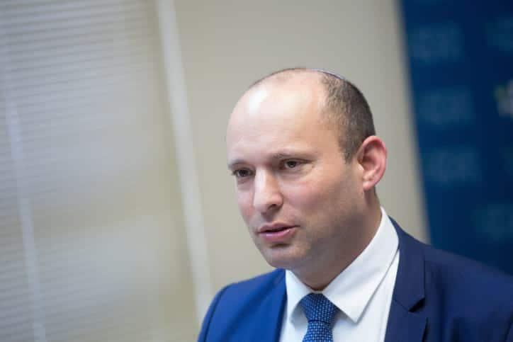 политик нафтали беннет фото