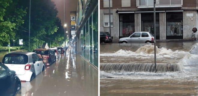 Navodnenie v Milane 1