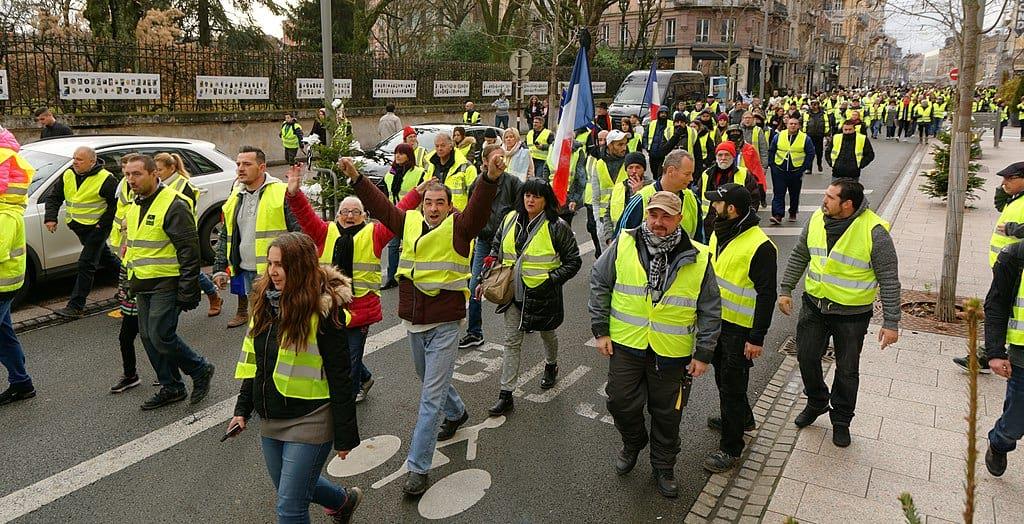 Protesty ZHeltyh zhiletov