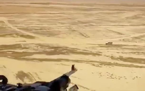 Расстрел грузовика с террористами ИГИЛ фото