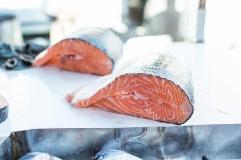 красная рыба лосось фото