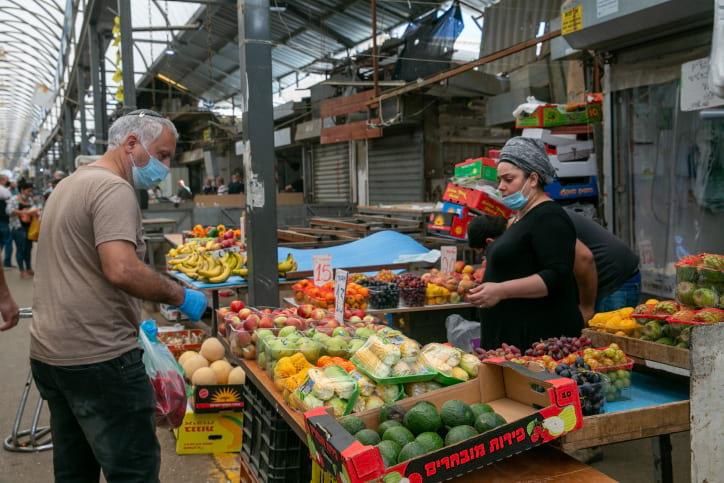 израильский рынок фото