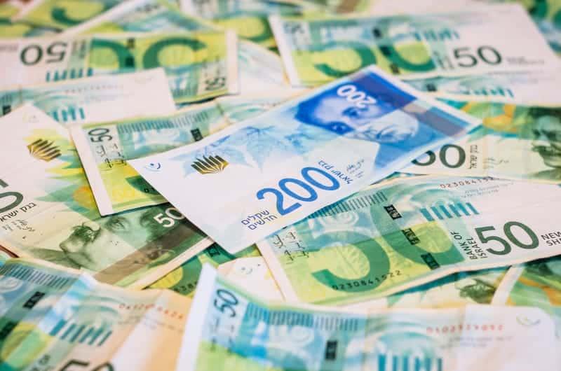 Шекель валюта фото