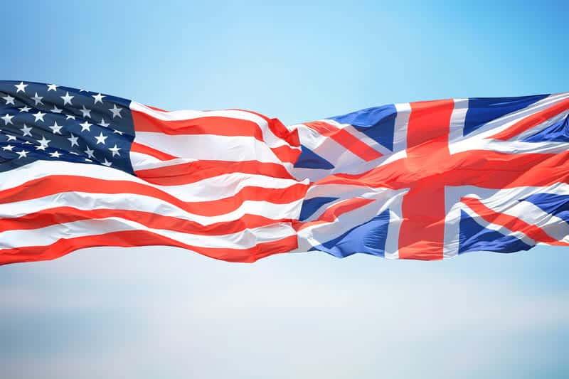 США и Великобритания фото