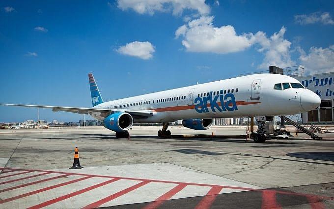 самолет израильской авиакомпании фото