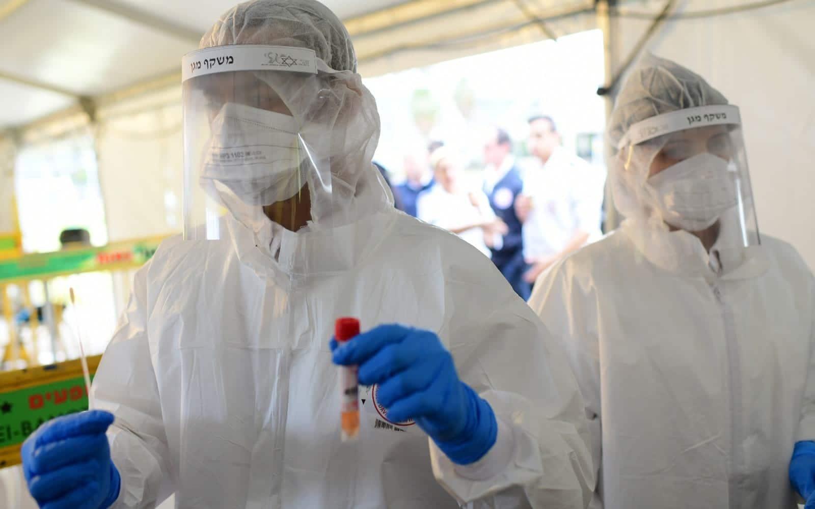 МАДА тестирование коронавирус израиль фото