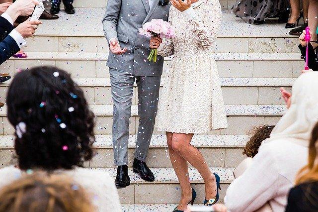 Свадьба жених невеста картинка