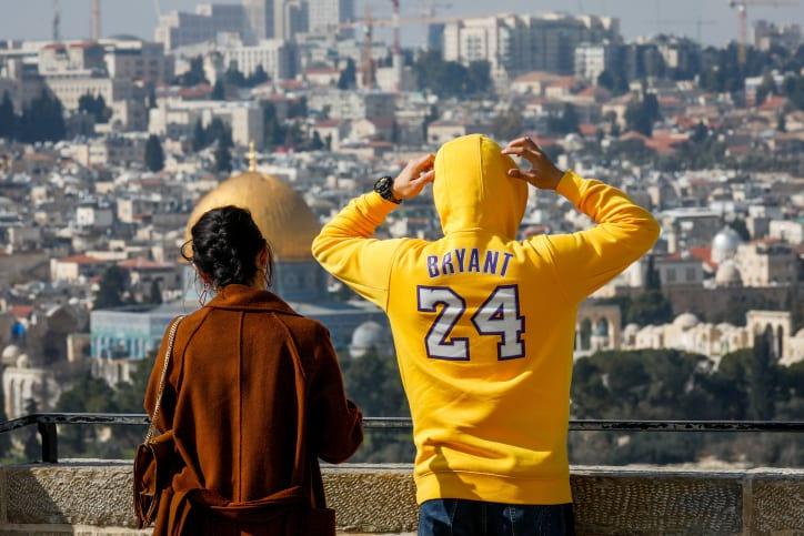 туристы Израиль фото