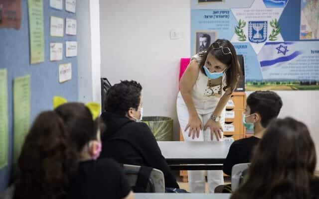 Ученики урок преподаватель школа Мавассерет-Цион израиль фото