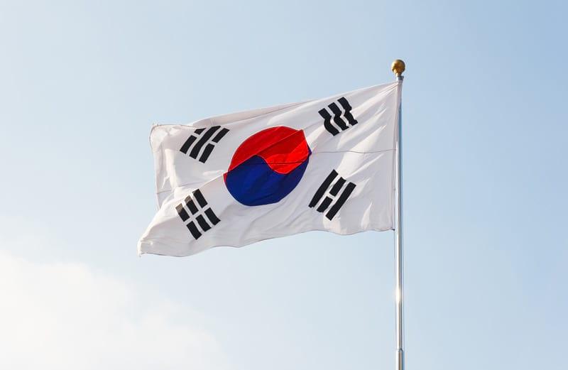 Флаг Южная Корея фото