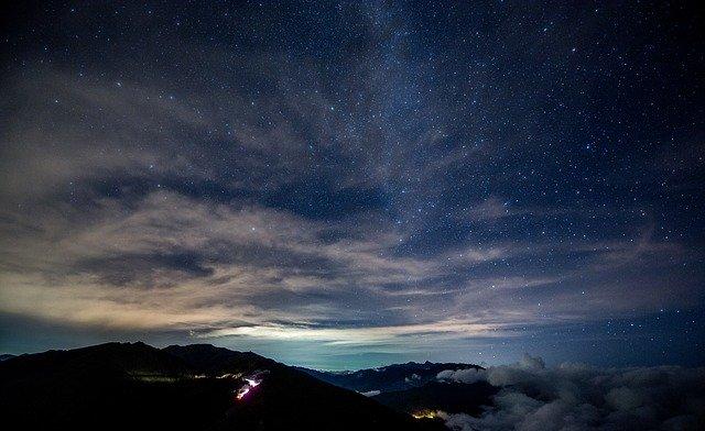 Звездное небо фото