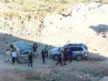 атака в сирии фото