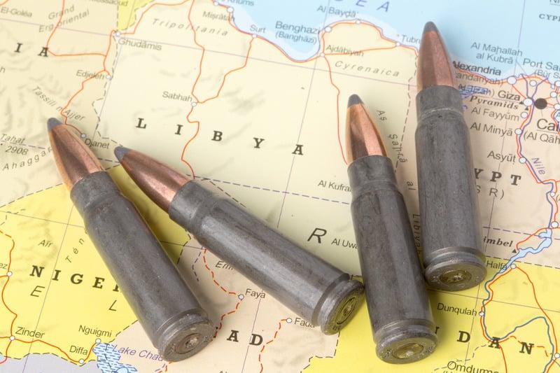 Ливия карта боеприпасы фото