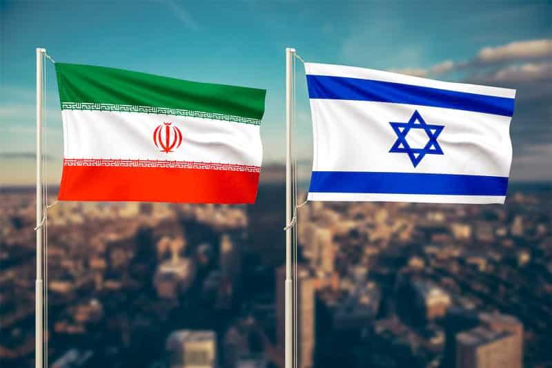 Флаги Израиля и Ирана фото