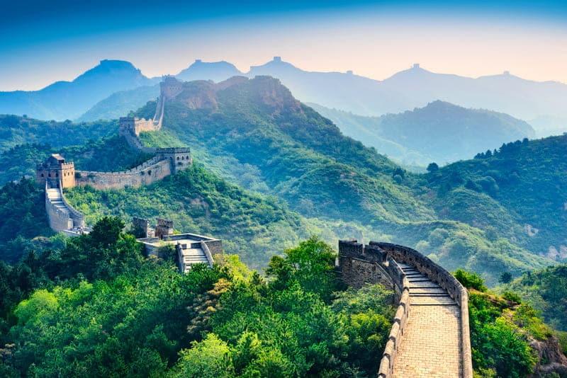 Великая Китайская стена картинка