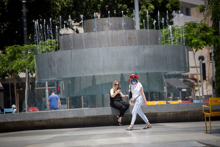 израильтяне улица карантин фото