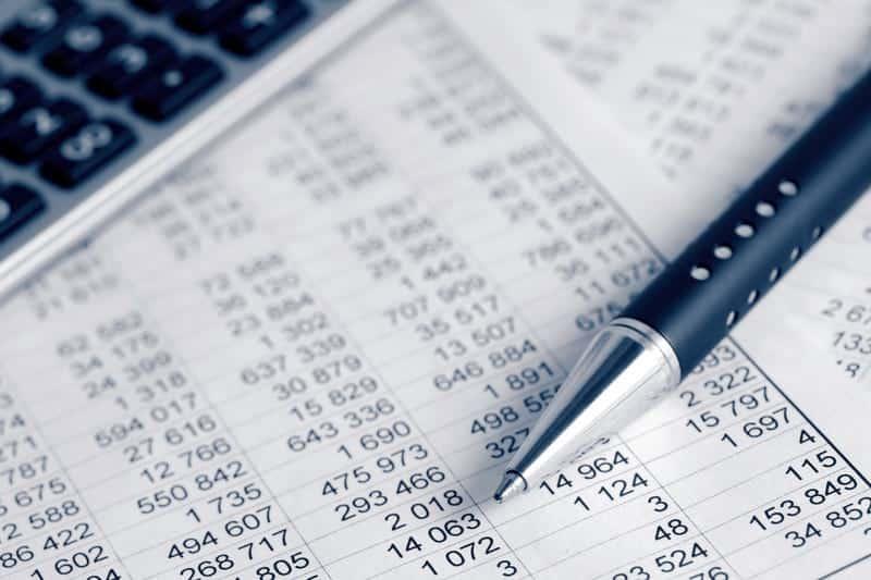 финансовый документ фото