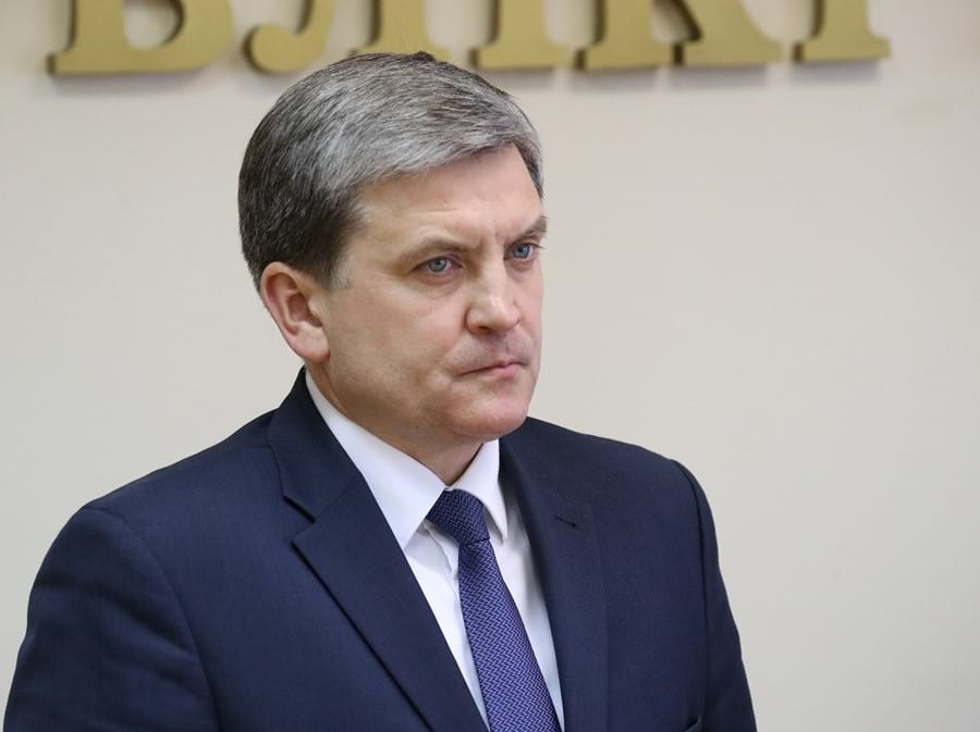 Glava Mininformpolitiki Belarusi Igor Lutskij