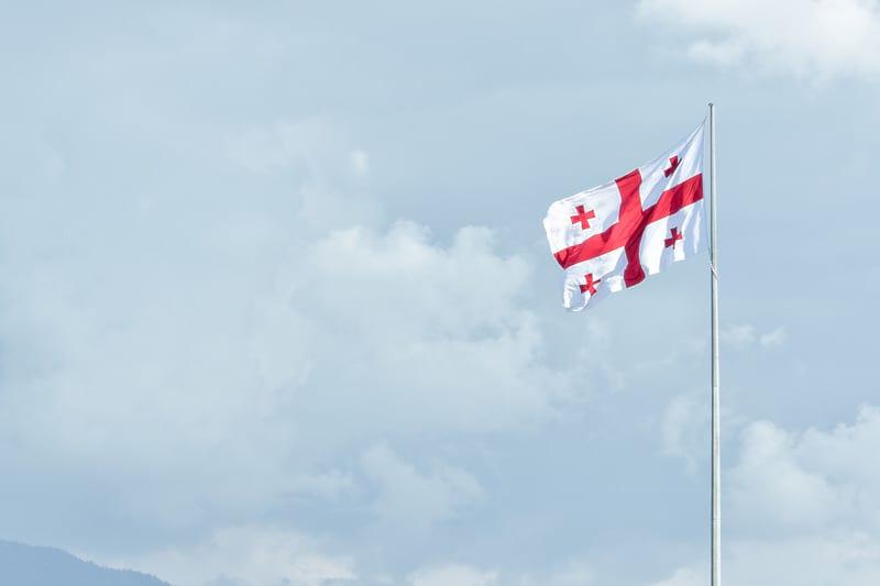 грузия флаг изображение