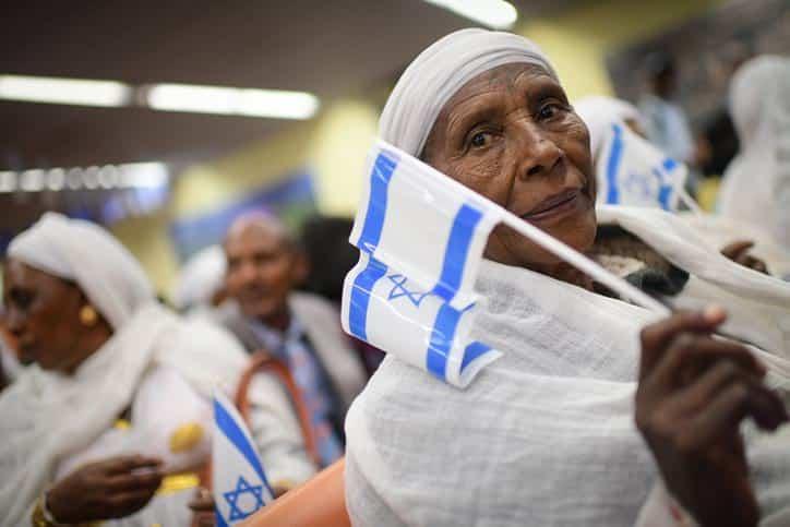 эфиопские евреи иммиграция фото