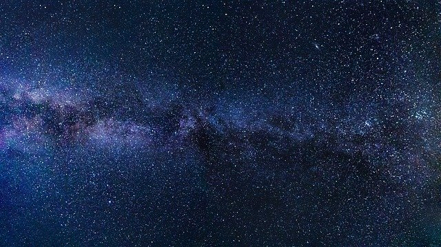 космос звезды картинка