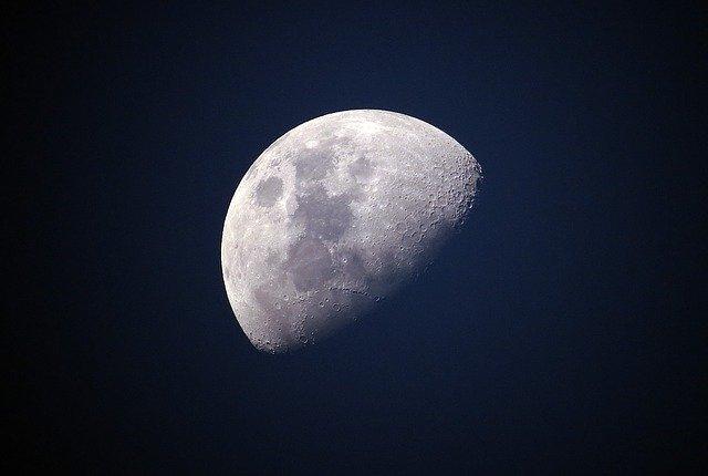 небо луна картинка